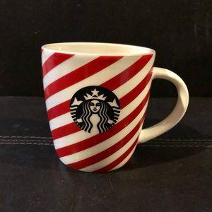 Starbucks Holiday Candy Cane Stripe Coffee Mug